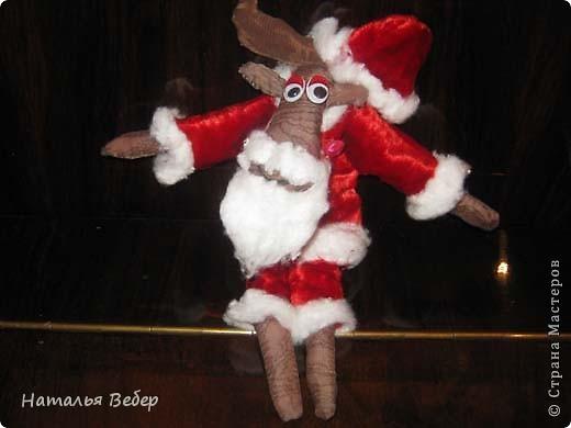 """Открывает его лосик от """"ЛеНкина"""".Вот такой печенюшный лосик!!!Ароматный,я в этом уверена,вгзляд озорной!!!Веночек получился яркий-праздничный.Леночка,молодечика!!! фото 4"""