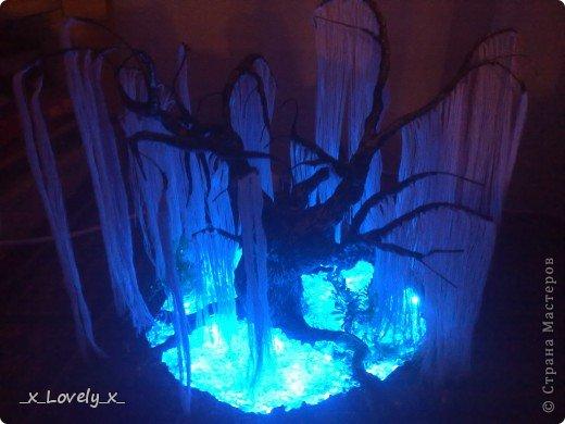 Я думаю многие видели МК по дереву из бисера из фильма Аватар(https://stranamasterov.ru/node/128229)Меня очень впечатлила эта работа( да и фильм я люблю) и я решила сделать это дерево.Но так как я - это я, купив бисер, я пересмотрела фильм и ко мне без всякого предупреждения, вполне неожиданно пришла идея: мне показалось, что веточки дерева больше похожи на ниточки. Ну это в моём духе: сначала приготовится..., а потом сделать всё по-другому))))Ну и я решила попробовать с нитками. Эмм... Мне кажется получилось неплохо))Ну и собственно небольшой МК. фото 1