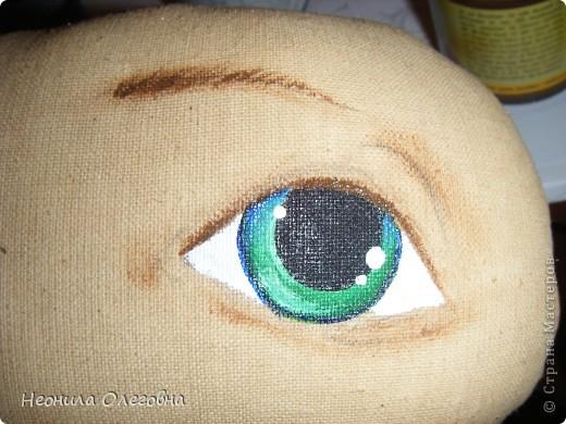 Почему бы и нет, подумала я... И надумала рассказать, как я рисую лицо своим куклам... фото 14