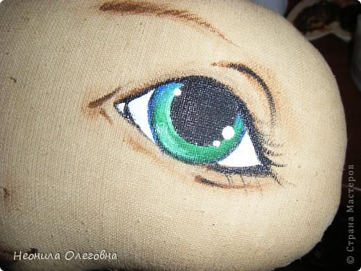 Почему бы и нет, подумала я... И надумала рассказать, как я рисую лицо своим куклам... фото 25