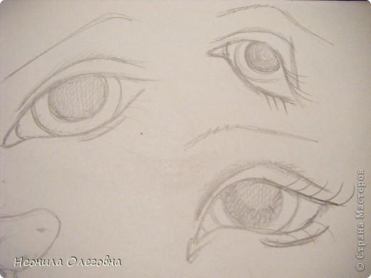 Почему бы и нет, подумала я... И надумала рассказать, как я рисую лицо своим куклам... фото 6