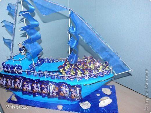 Мой первый корабль. Делался по другим кораблям из СМ , методом тыка. фото 1