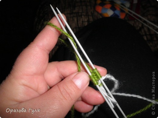 Гардероб Мастер-класс Вязание спицами Носки плетенкой мастер-класс Пряжа фото 2