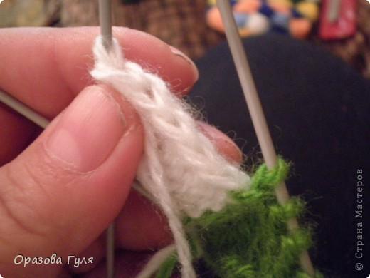 Гардероб Мастер-класс Вязание спицами Носки плетенкой мастер-класс Пряжа фото 9