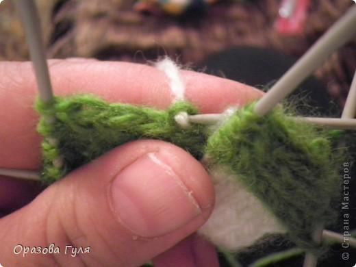 Гардероб Мастер-класс Вязание спицами Носки плетенкой мастер-класс Пряжа фото 12