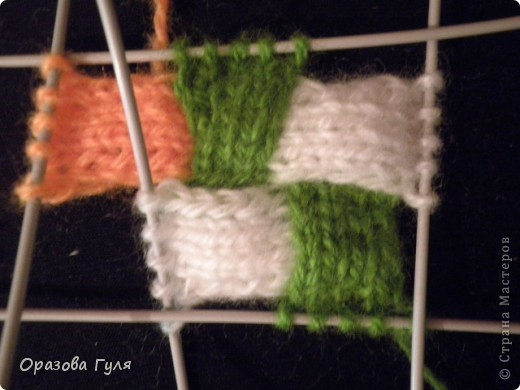 Гардероб Мастер-класс Вязание спицами Носки плетенкой мастер-класс Пряжа фото 17