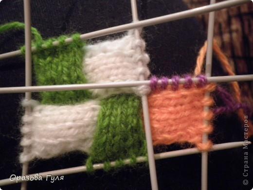 Оказывается подобное вязание называется энтерлак!  А я все плетенка, плетенка... Хочу рассказать как я их вязала.  фото 18