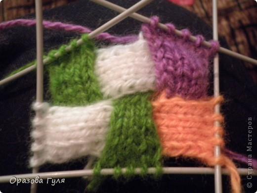 Оказывается подобное вязание называется энтерлак!  А я все плетенка, плетенка... Хочу рассказать как я их вязала.  фото 21