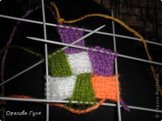 Гардероб Мастер-класс Вязание спицами Носки плетенкой мастер-класс Пряжа фото 24
