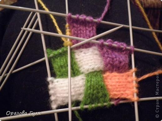 Оказывается подобное вязание называется энтерлак!  А я все плетенка, плетенка... Хочу рассказать как я их вязала.  фото 25