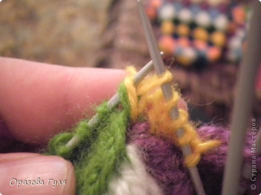 Гардероб Мастер-класс Вязание спицами Носки плетенкой мастер-класс Пряжа фото 26