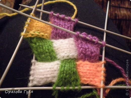 Оказывается подобное вязание называется энтерлак!  А я все плетенка, плетенка... Хочу рассказать как я их вязала.  фото 27