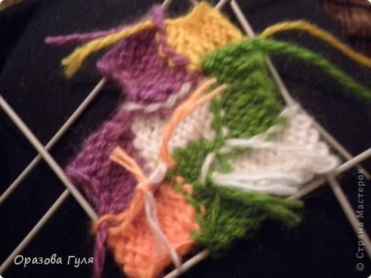 Оказывается подобное вязание называется энтерлак!  А я все плетенка, плетенка... Хочу рассказать как я их вязала.  фото 28