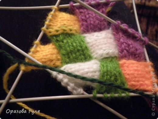 Оказывается подобное вязание называется энтерлак!  А я все плетенка, плетенка... Хочу рассказать как я их вязала.  фото 29