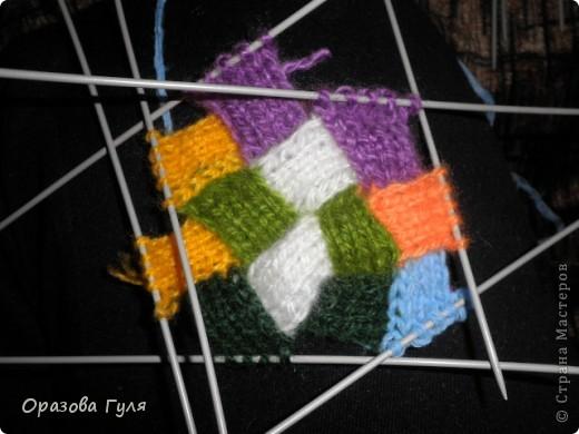 Оказывается подобное вязание называется энтерлак!  А я все плетенка, плетенка... Хочу рассказать как я их вязала.  фото 31