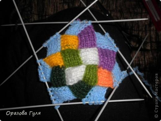 Оказывается подобное вязание называется энтерлак!  А я все плетенка, плетенка... Хочу рассказать как я их вязала.  фото 32