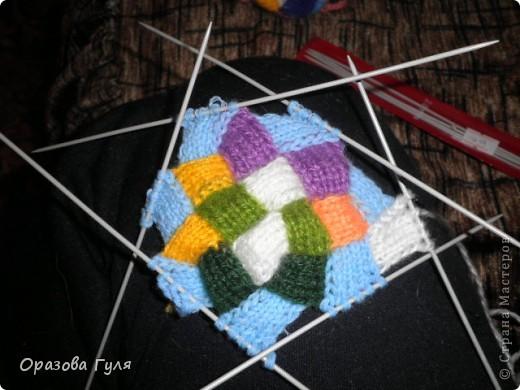 Оказывается подобное вязание называется энтерлак!  А я все плетенка, плетенка... Хочу рассказать как я их вязала.  фото 33