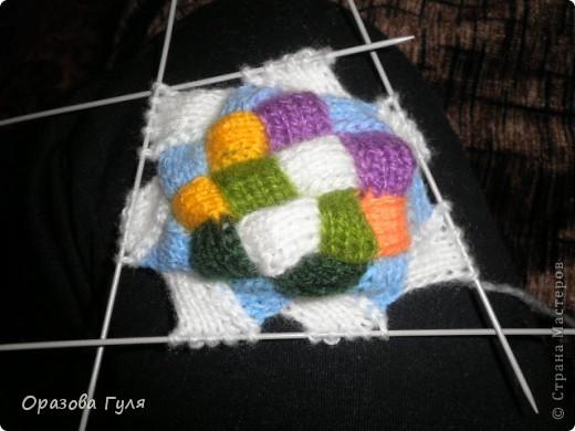 Оказывается подобное вязание называется энтерлак!  А я все плетенка, плетенка... Хочу рассказать как я их вязала.  фото 34