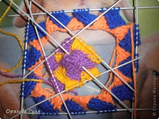 Оказывается подобное вязание называется энтерлак!  А я все плетенка, плетенка... Хочу рассказать как я их вязала.  фото 36