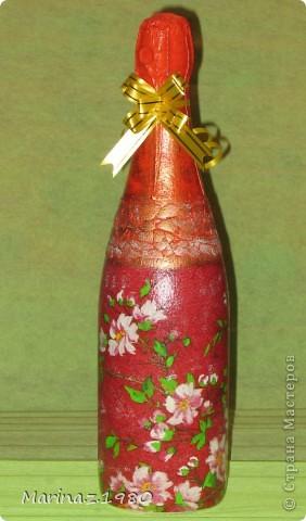 Подарочный набор ко дню рождения для женщины - бутылочка и банка чая.  фото 2