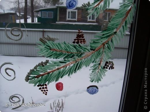 Решила украсить кухонное окно  фото 2
