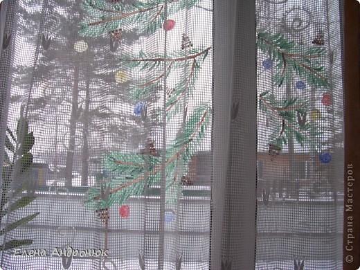 Решила украсить кухонное окно  фото 3