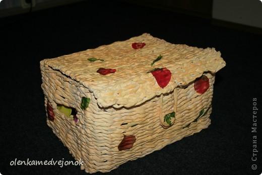 Коробочка для детской посуды фото 1