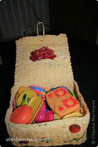 Коробочка для детской посуды фото 4
