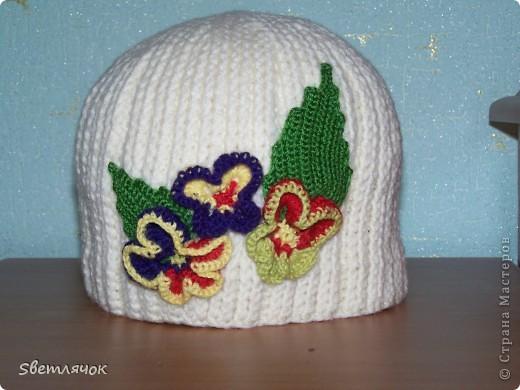 шапочка, для себя любимой, к Новому году :)