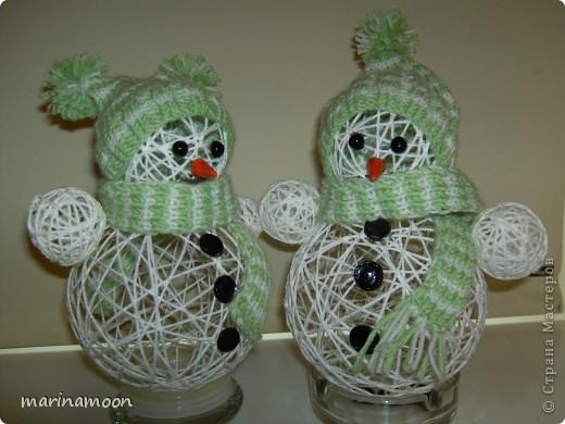 Как сделать новогодние поделки своими руками снеговик - Belbera.Ru