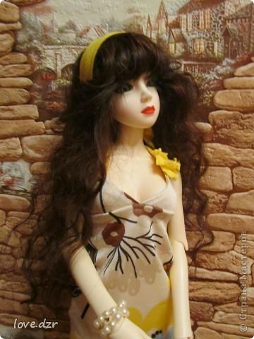 Платье и парик сделано мной. фото 2