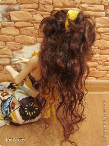 Платье и парик сделано мной. фото 4