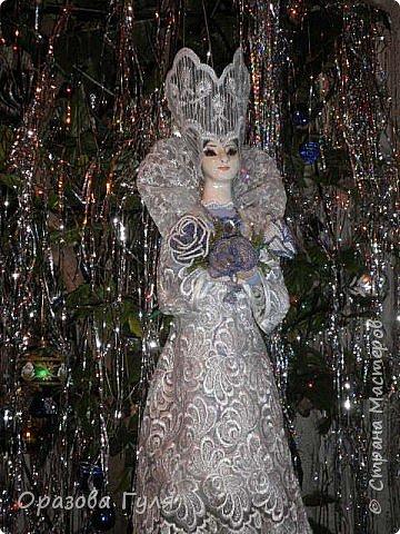 Корона для снежной королевы своими руками фото