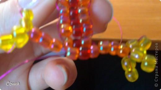 мастер класс по плетению бус в технике воздушка. схемы плетения шариков из бисера. воротничок... орхідея з бісеру...