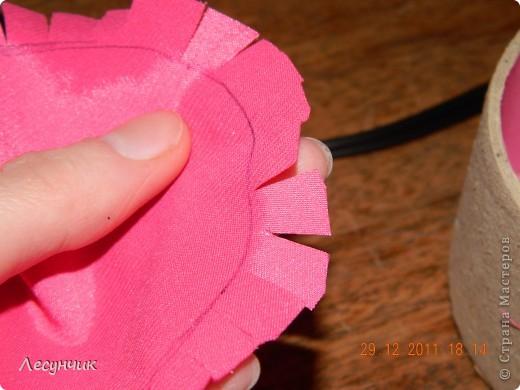 Мастер-класс 8 марта День матери День рождения Новый год Цумами Канзаши Шктулка канзаши Картон Ленты фото 6