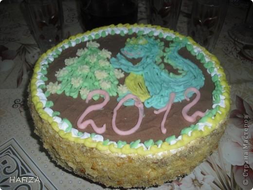 тортик с Дракошей фото 1