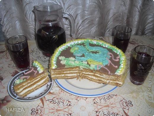 тортик с Дракошей фото 3