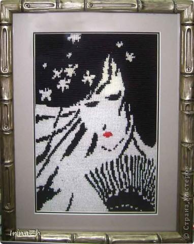 Картина панно рисунок Макраме