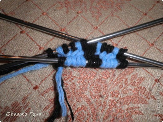 Гардероб Мастер-класс Вязание спицами Носки от мыска Мастер-класс Пряжа фото 5