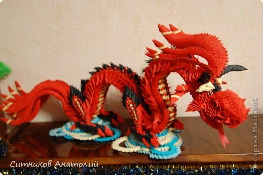 изделие Новый год Оригами