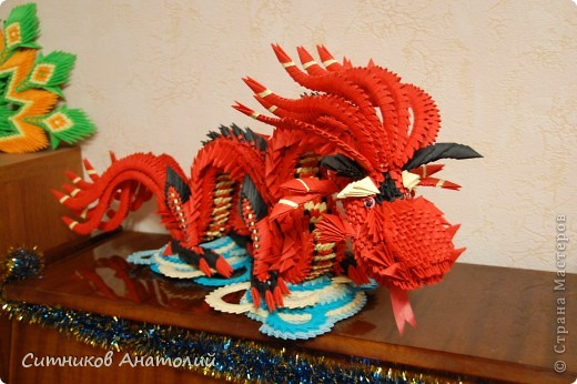 китайское модульное Дракон
