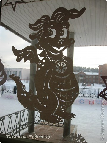 Интерьер Новый год Вырезание Новогодние окна Вытынанки Бумага фото 3