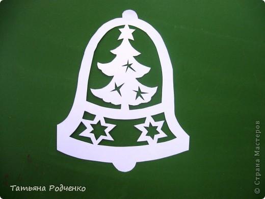 Интерьер Новый год Вырезание Новогодние окна Вытынанки Бумага фото 18