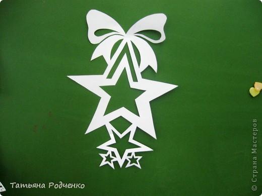 Интерьер Новый год Вырезание Новогодние окна Вытынанки Бумага фото 19