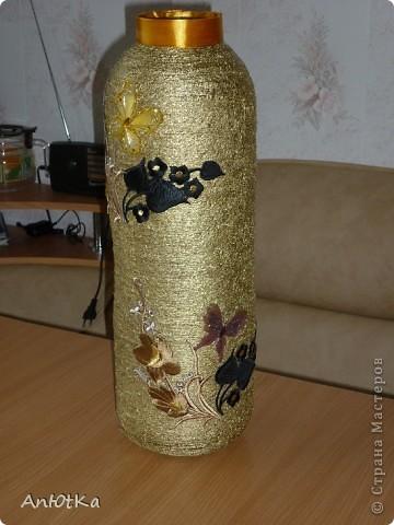 Как сделать вазу из трехлитровой банки