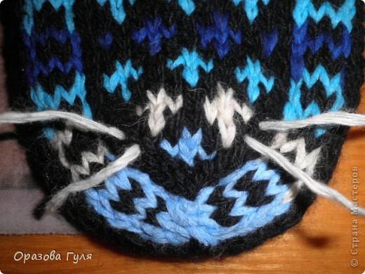 Гардероб Мастер-класс Вязание спицами Носки от мыска Мастер-класс Пряжа фото 8