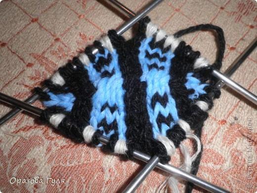 Гардероб Мастер-класс Вязание спицами Носки от мыска Мастер-класс Пряжа фото 15