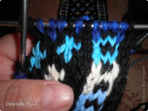 Гардероб Мастер-класс Вязание спицами Носки от мыска Мастер-класс Пряжа фото 18