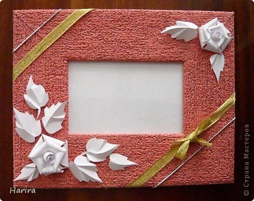 Рамка из картона для фотографий своими руками