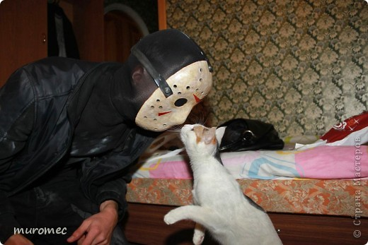 Год выполнения 2010. ----------------------------- Доработано в 2011. ----------------------------- Создание маски Jason,а (Пятница 13е) фото 29